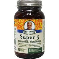 Udo S choice Super 5 Microprobiotic 60  tabletten