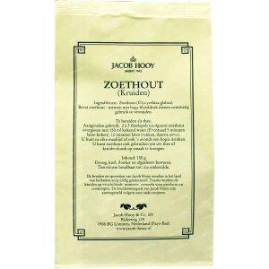 Jacob Hooy Zoethout gesneden geschild (geel zakje) 150 g