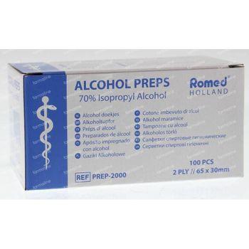 Romed Alcoholdoekjes 100 stuks