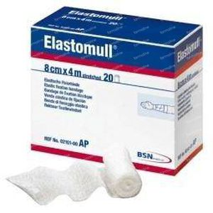 Elastomull 4 m x 8 cm 2096 20 rollen