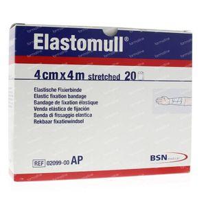 Elastomull 4 m x 4 cm 2099 20 rollen
