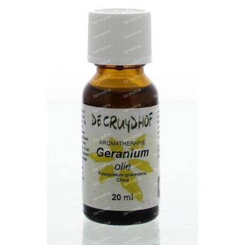 Cruydhof Geranium olie China 20 ml