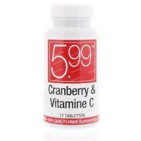 5.99 Cranberry & Vitamine C 77 tabletten