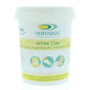 Vertargil Witte leem uitwendig 250 g