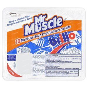 Brillo Soap pads 10 stuks