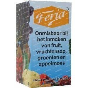 Feria Inmaak 50 ml + 20 tabletten 1 ml set