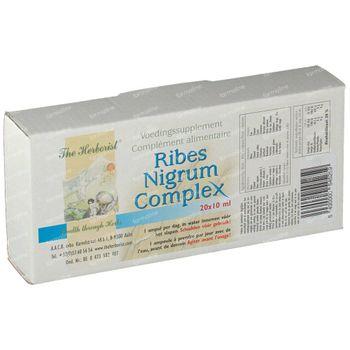 Herborist Ribes nigrum complex 10 ml 20 ml ampullen
