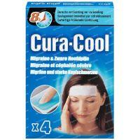 Be Cool Cura-cool migraine strips 4 stuks