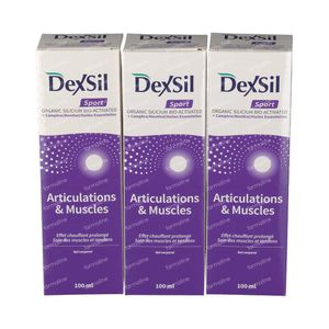 Dexsil Sport & Muscle Tripack 300 ml gel