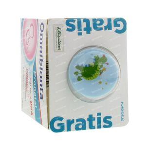 Omnibionta Pronatal + DHA with FREE Lilliputiens Blue Pacifier Holder 192 stuks