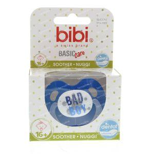 Bibi Pacifier Bad Boy 16M+ 1 St