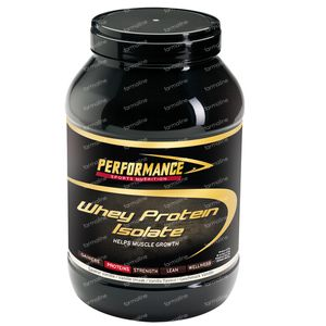 Performance Whey Protein Isolate Vanille 2 kg