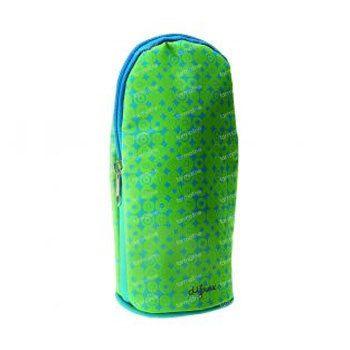 Difrax Sac Biberons Isoler Vert/Bleu 1 pièce