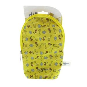 Difrax Bottle Bag Isolating Yellow Beast 1 St