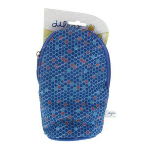 Difrax Sac Biberons Isoler Bleu/Rouge 1 pièce