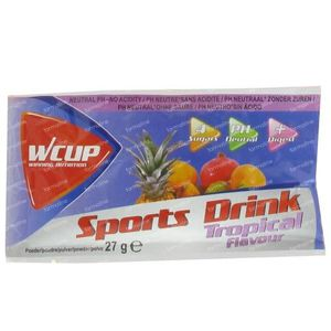 Wcup Sports Drink Tropical 30 g