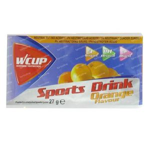 Wcup Sports Drink Orange 30 g