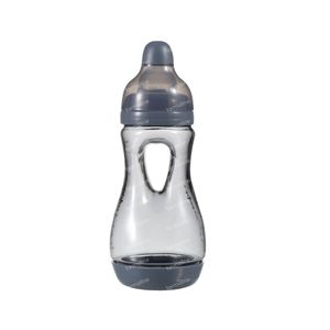 Difrax Easy Grip Baby Bottle Gray 170ml 170 ml
