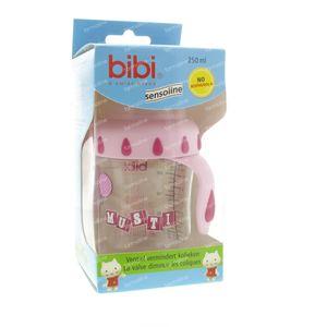 Bibi Suction Bottle Musti Pink 250ml 250 ml