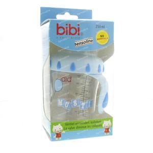 Bibi Suction Bottle Musti Blue 250ml 250 ml
