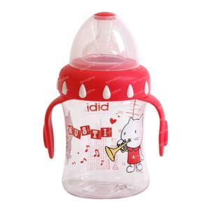 Bibi Suction Bottle Musti Red 250ml 250 ml
