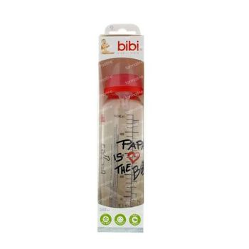 Bibi Biberon Verre Papa 250 ml