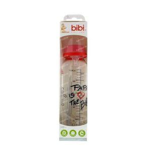 Bibi Feeding Bottle Glass Dad 250 ml