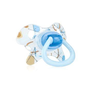 Nuby Soother Tritan Prism-Ortho Sil +18M Bleu 1 pièce