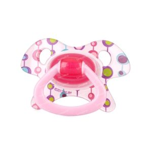 Nuby Soother Tritan Prism-Ortho Sil +18M Pink 1 pièce