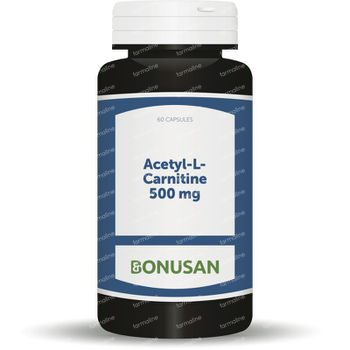 Acetyl L Carnitine 500 mg 60 vcaps