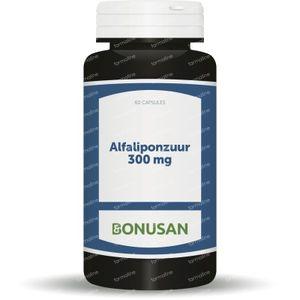 Alfa Liponzuur 300mg 60 capsules