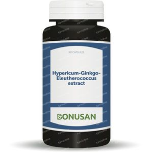 Bonusan Hypericum Ginkgo Elutherococcus 90 capsules