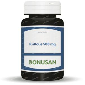 Bonusan Huile De Krill 500 mg 60 gélules souples