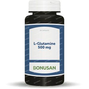 Bonusan L-Glutamine 500 60 capsules