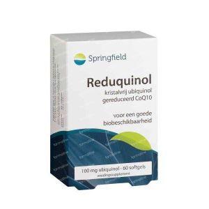 Springfield Reduquinol 100 mg 60 stuks Softgels