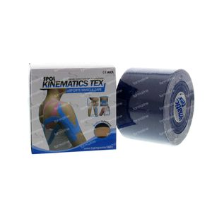 Kinematics Tex Tape Muscles Navy 5cm x 5m 1 pièce