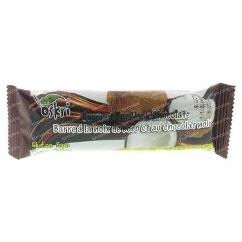 Oskri Kokosnootreep Chocolade Puur 53 g