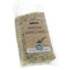 Terrasana RAW  Graines De Chanvre 250 g
