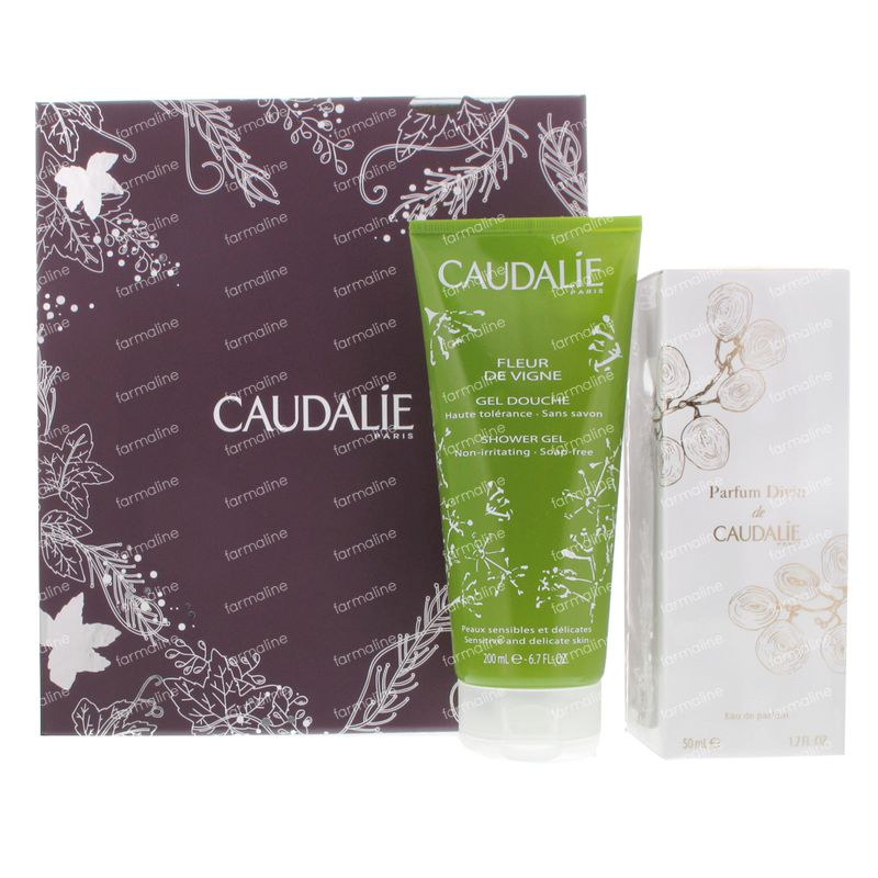 caudalie parfum divin coffret cadeau 2 st vente en ligne. Black Bedroom Furniture Sets. Home Design Ideas