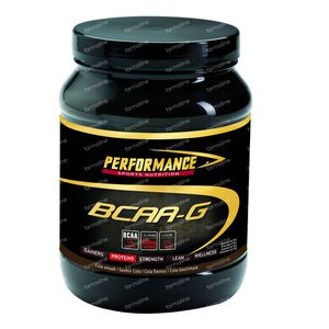 Performance Recovery BCAA-G Cola 500 g Poeder