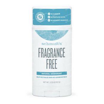 Schmidt's Natural Deodorant Fragrance Free 92 g