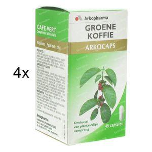 Arkocaps Groene Koffie 3 + 1 GRATIS 180 capsules