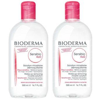 Bioderma Sensibio H2O Micellair Water DUO 2x500 ml