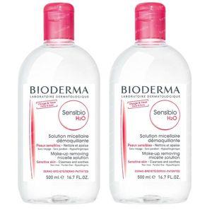 Bioderma Sensibio H2O Solution Micellaire DUO 2x500 ml