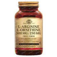 Solgar L-Arganine/L-Orthinine 500/250 mg 50  capsules