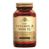 Solgar Vitamin A 5000 IU/1502 mcg 100  comprimés