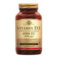 Solgar Vitamin D3 4000 IE/100 mcg 120  kapseln