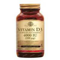 Solgar Vitamin D3 4000 IU/100 mcg 120  capsules