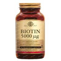 Solgar Biotin 5000 mcg 50  capsules