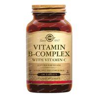 Solgar Vitamin B Complex With Vitamin C 100  tabletten